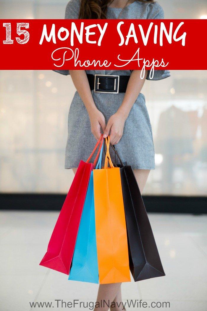 15 Money Saving Phone Apps