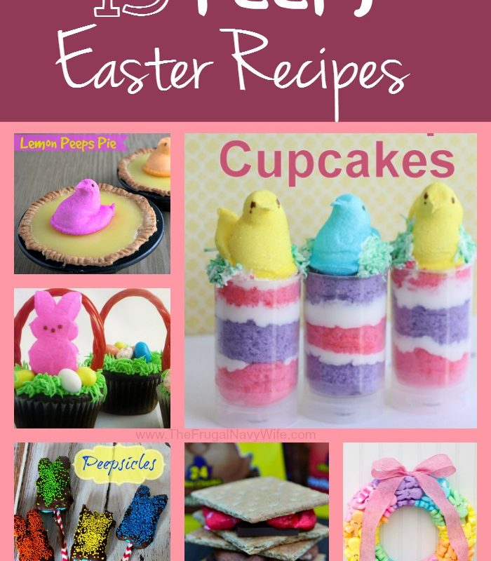 15 Peeps Easter Recipes
