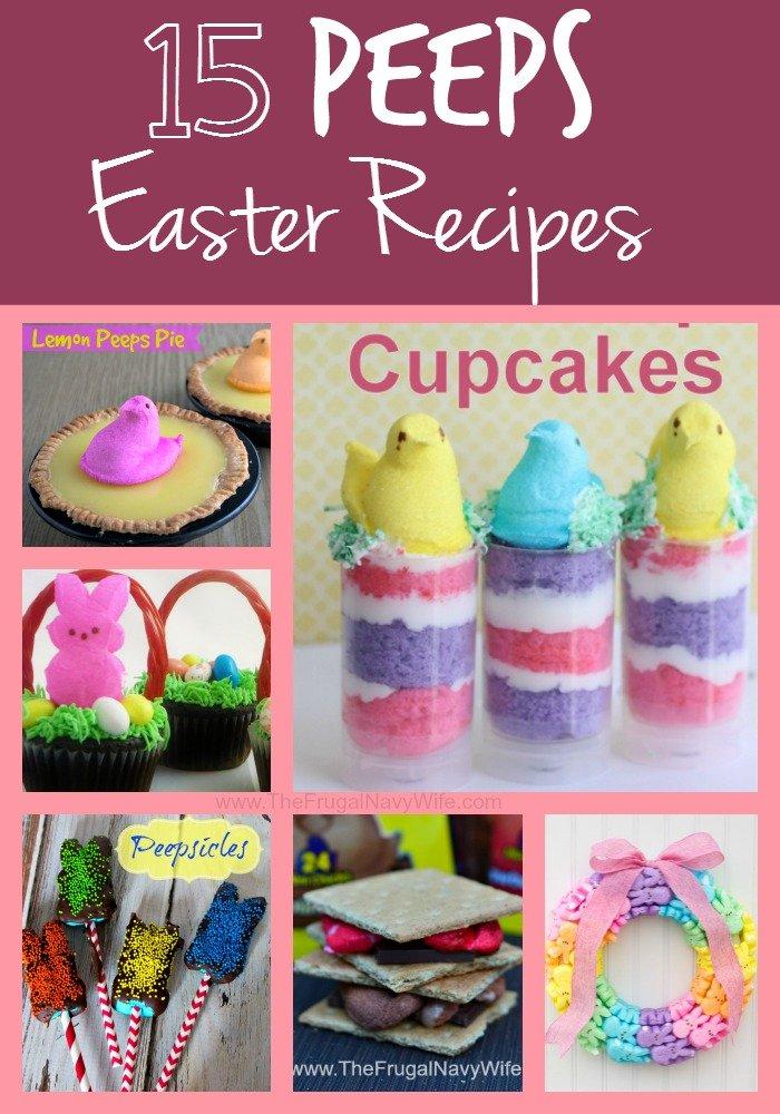 15 Peeps Easter Recipes