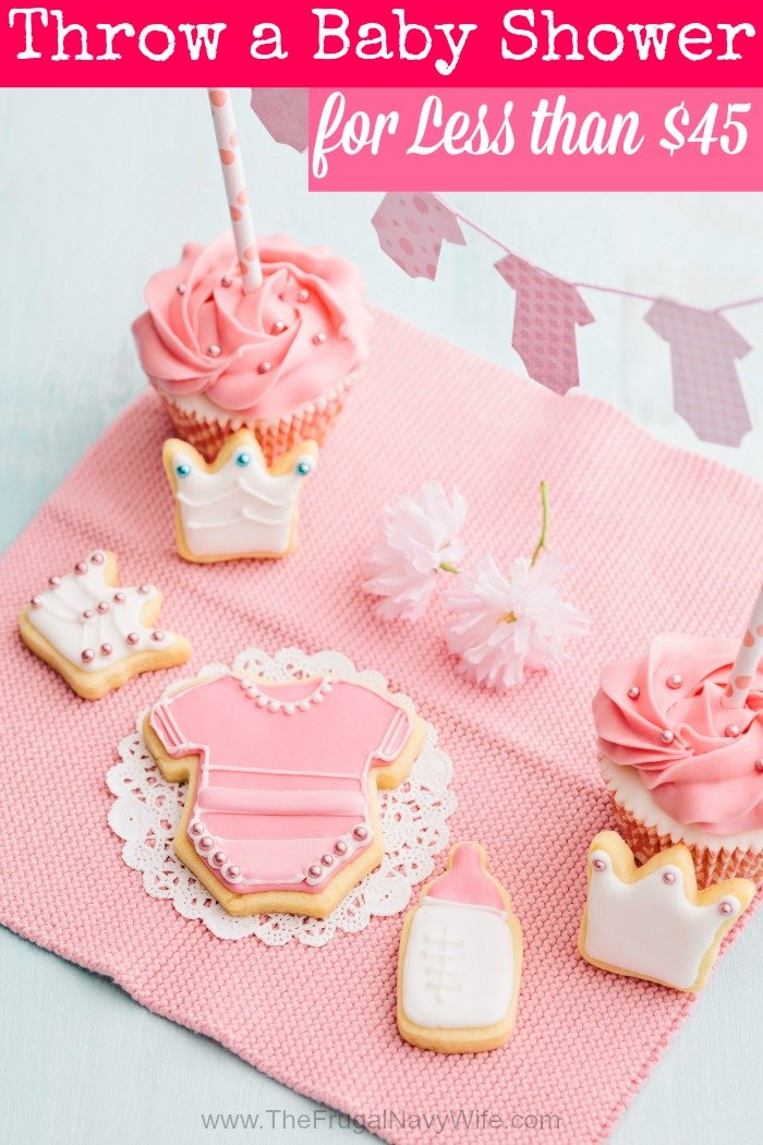 Throw a Baby Shower for Less than $45