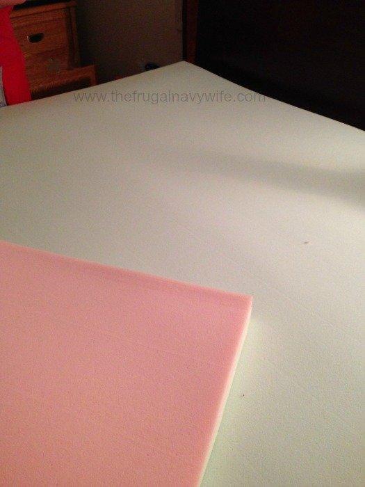 Foam matress flip
