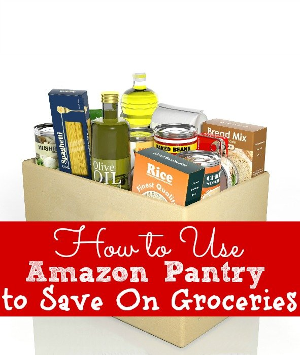 How to Use Amazon Pantry to Save On Groceries