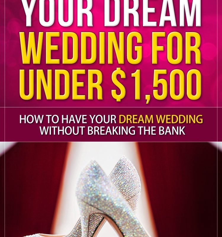 My Book Have Your Dream Wedding for $1,500 or Less is Out!
