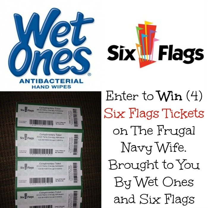 six flags and wet ones