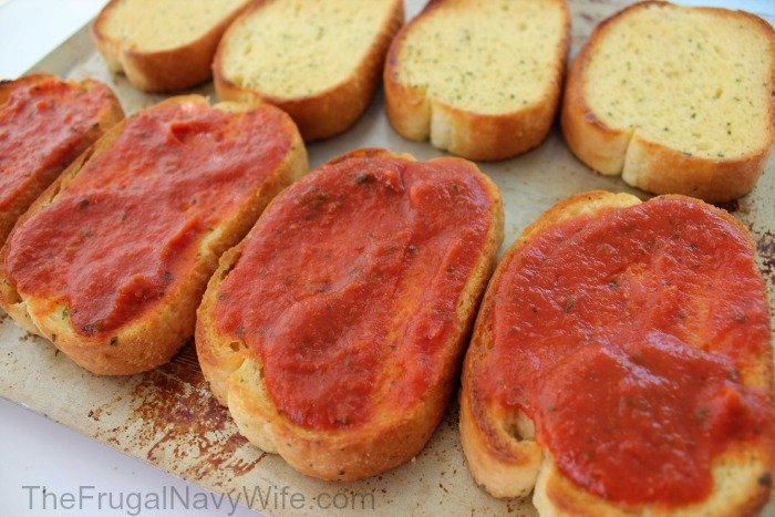 Grilled Pepperoni Pizza Sandwich Sauce