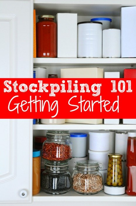 Stockpiling 101: Getting Started