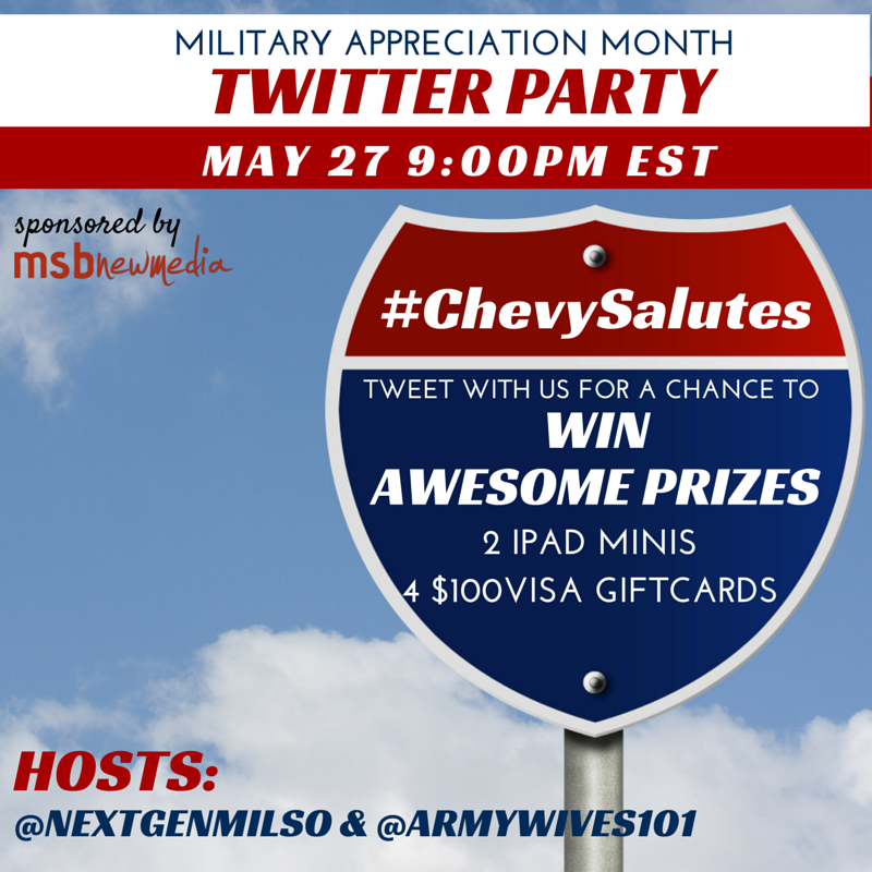Be a Military Spouse Advocate #ChevySalutes