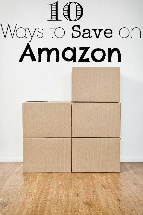 10 Ways to Save on Amazon