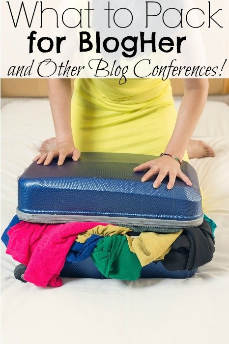 What to Pack for BlogHer and Other Blog Conferences!