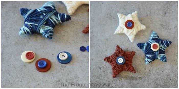 Yarn Stars Adding Buttons