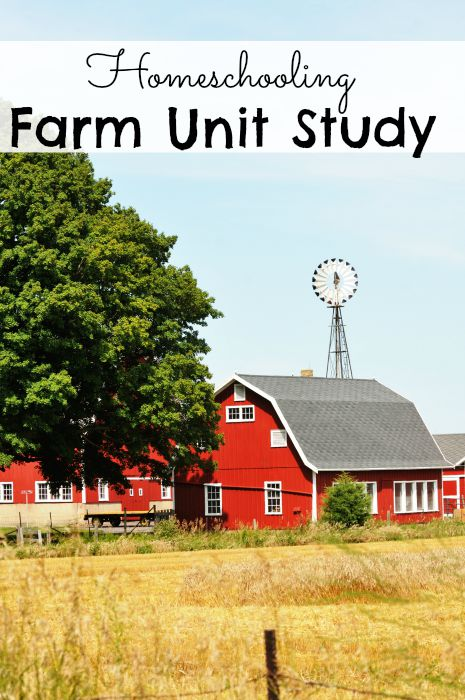 Homeschooling Farm Unit Study