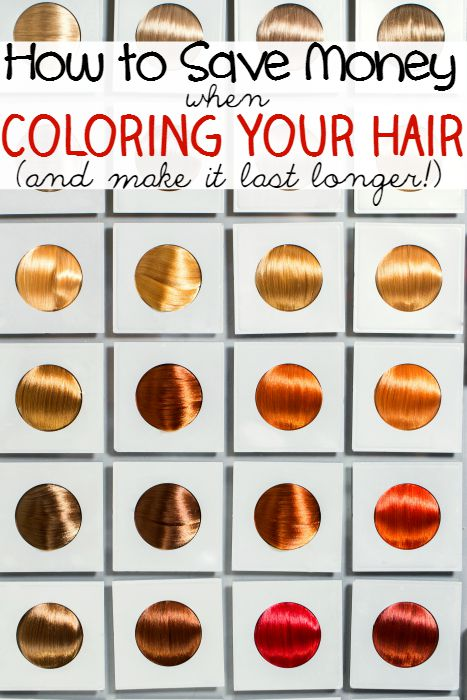 How to Save Money When Coloring Your Hair