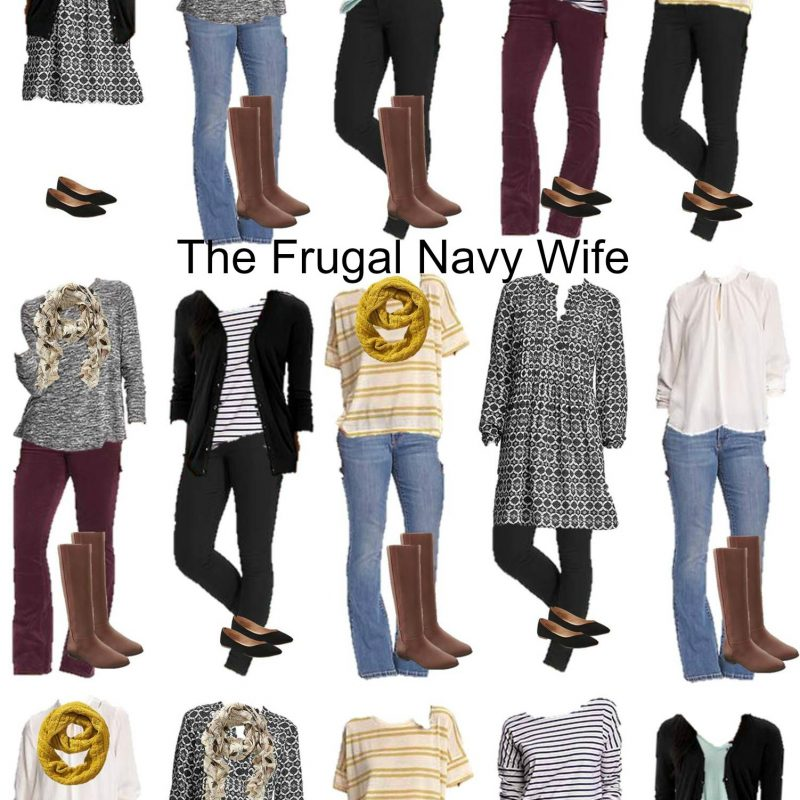 Old Navy Mix and Match Fall Outfits