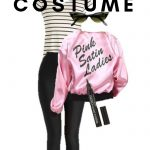 If you want to be Sandy from Grease for Halloween this year, here is the way to do it with this Greaser Halloween Costume! #grease #halloween #adultcostume #frugalnavywife | Halloween | Adult Halloween Costume | DIY Halloween Costume | Grease Costume