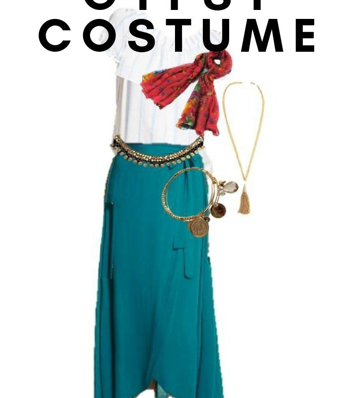 Womens Gypsy Halloween Costume – Using Everyday Clothes