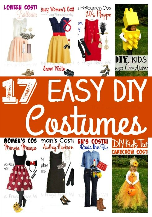 17 DIY Halloween Costumes
