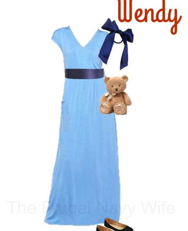 Must See Disney's Women's Wendy Costume DIY