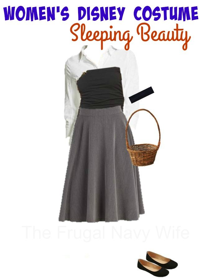 DIY Disney Women's Sleeping Beauty Costume