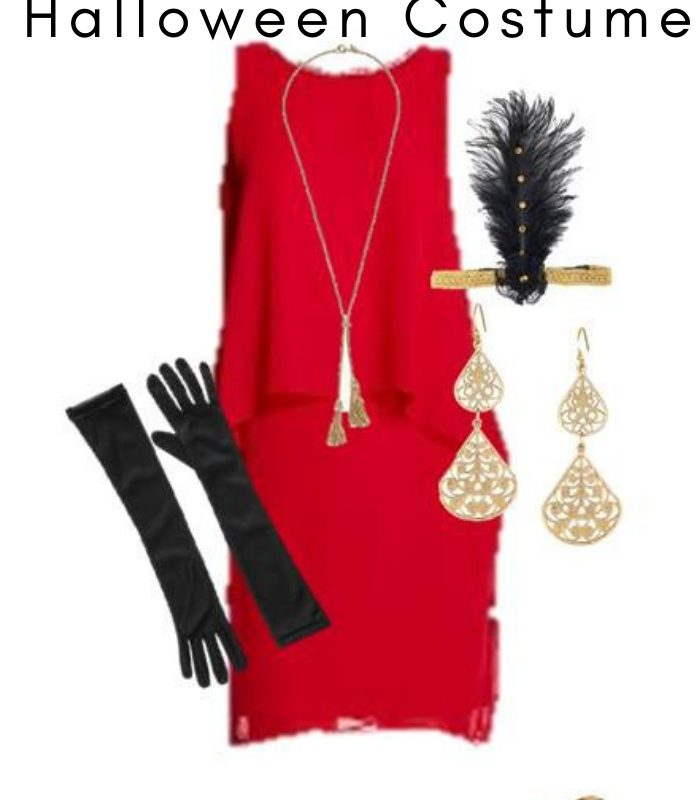 Women's Flapper Halloween Costume – Made From Everyday Clothes
