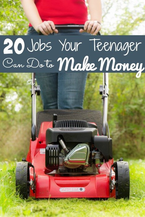 20 Jobs Your Teenager Can Do to Make Money