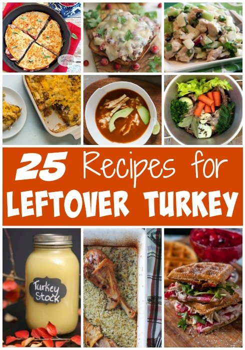 25 Recipes for Leftover Turkey