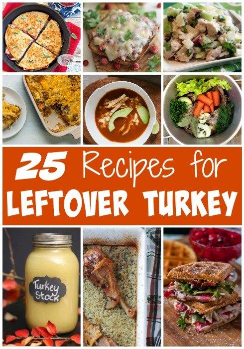 25 Recipes for Leftover Turkey