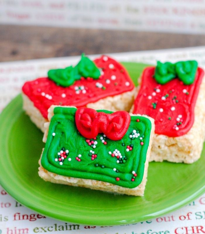 Rice Krispie Treats Christmas Presents