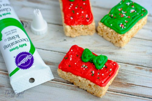 Rice Krispie Treats Christmas Presents Decor