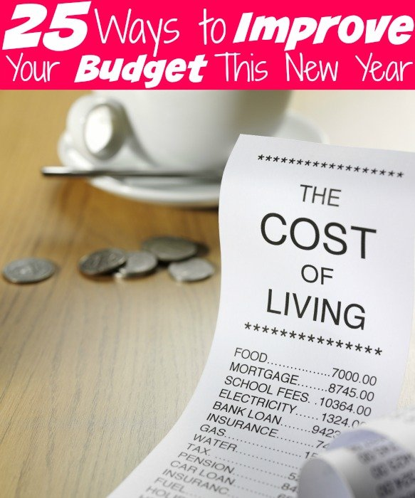 25 Ways to Improve Your Budget This New Year