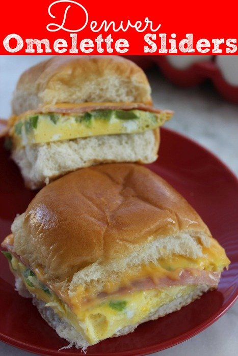 Denver Omelette Sliders Recipe