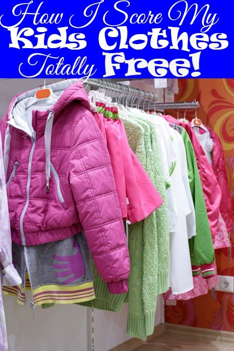 How I Score My Kids Clothes Totally Free!