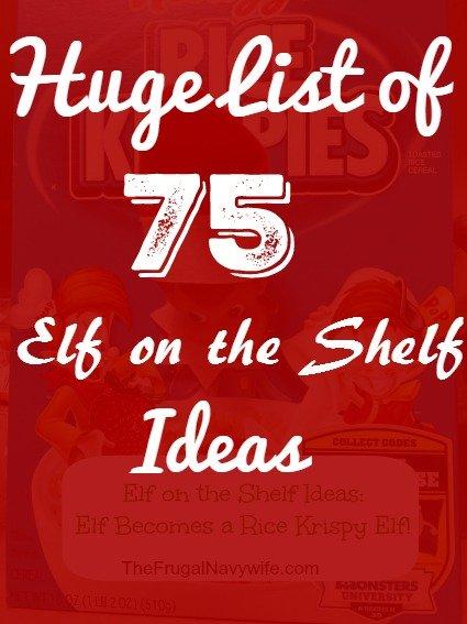 Huge List of 75 Elf on the Shelf Ideas
