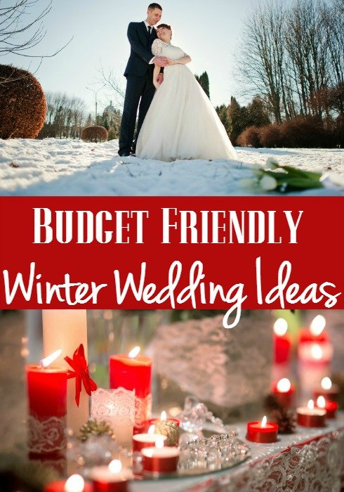 Budget friendly winter wedding ideas