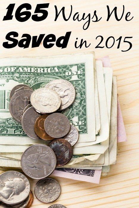 165 Ways We Saved in 2015