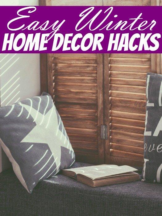 Easy Winter Home Decor Hacks