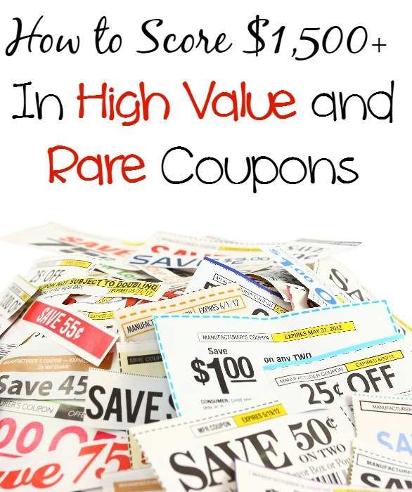 How to Score $1500+ In High Value and Rare Coupons