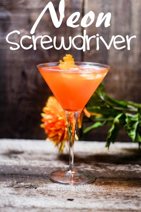 Neon Screwdriver Recipe