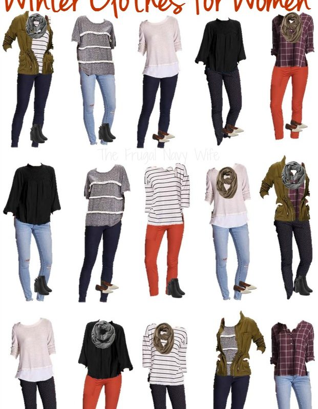 Old Navy Mix and Match Winter Clothes for Women