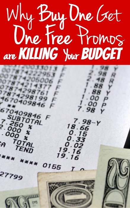 Why Buy One Get One Free Promos are Killing Your Budget
