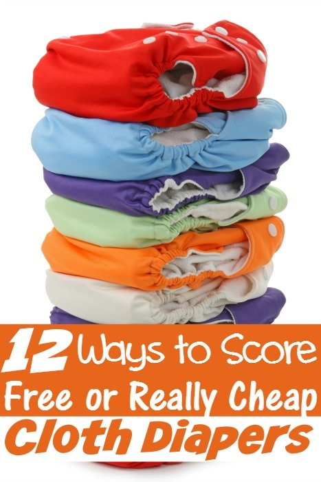 12 Ways to Score Free or Really Cheap Cloth Diapers