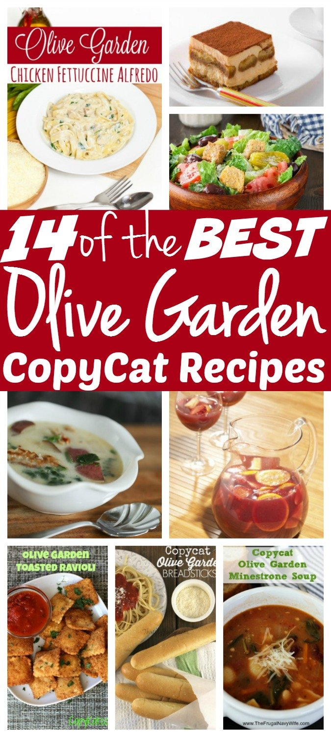 14 of the best olive garden copycat recipes