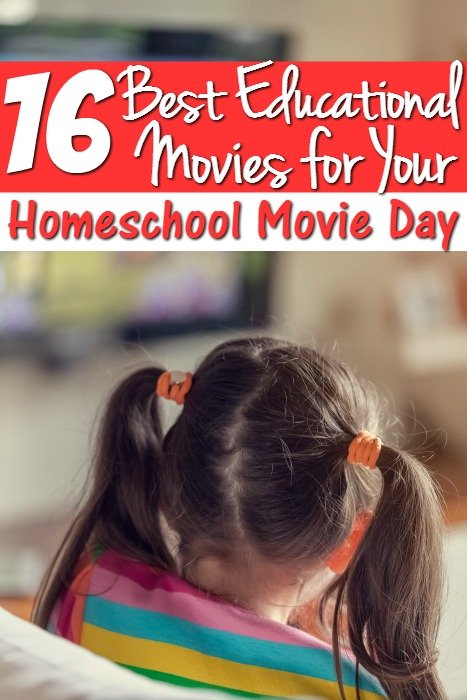 16 Kids Educational Movies for Your Homeschool Movie Day