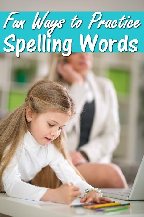 8 Fun Ways to Practice Spelling Words