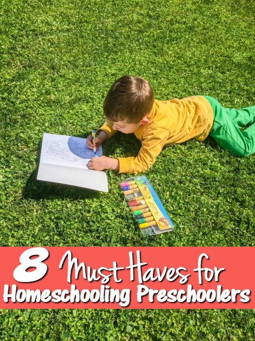 8 Must Haves for Preschool Homeschool Curriculum
