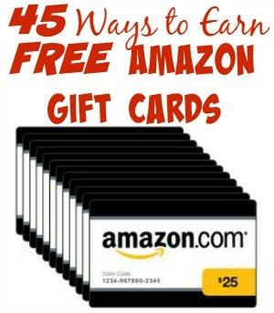45 Ways To Earn Amazon Gift Cards For Absolutely Free