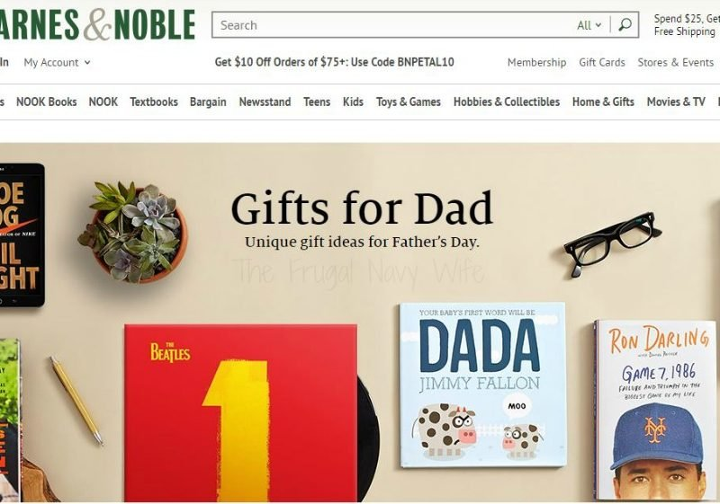 Find the Perfect Father's Day Gift with Barnes and Noble