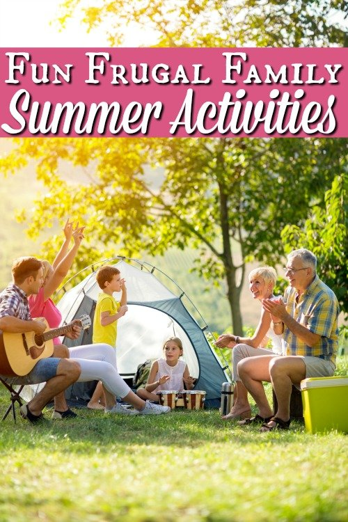 Frugal Family Summer Activities