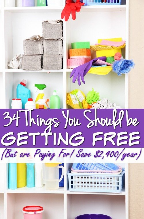 How to Save Money – 34 Things You Should be Getting Free