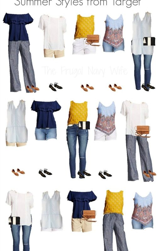 Mix & Match Target Womens Clothes for Summer