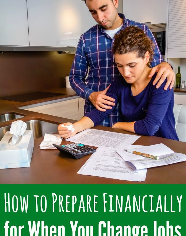 Preparing Financially for a Career Change
